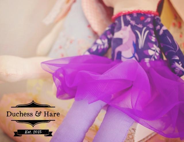 Duchess and Hare Dolls. Duchess's Skirt.