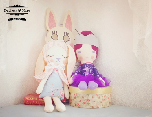 Duchess and Hare Dolls Sewing Pattern