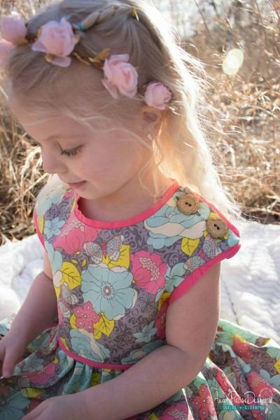 Who's Got the Button Pattern by Avary Rose Designs