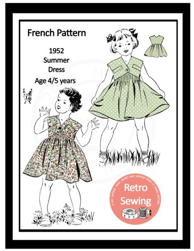 vintage pattern from My Vintage Wish on Etsy