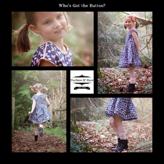 Duchess and Hare - Who's Got the Button Pattern
