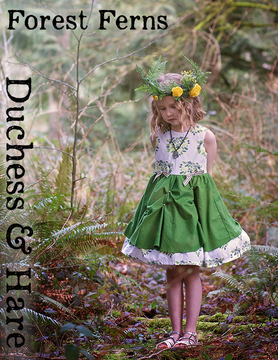 Duchess and Hare Project Run and Play Greenery