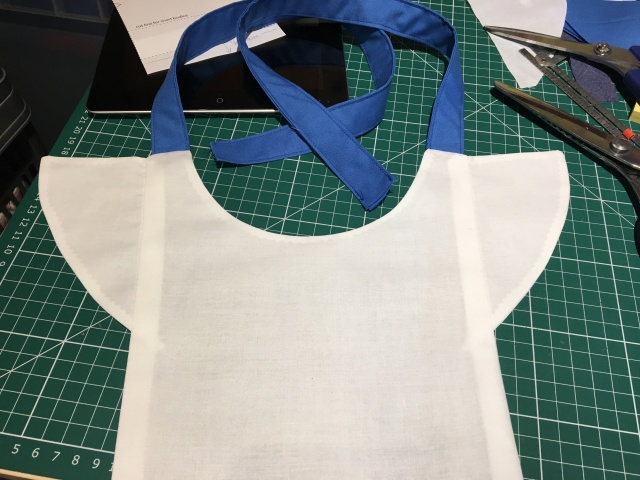 7 Bodice turned out