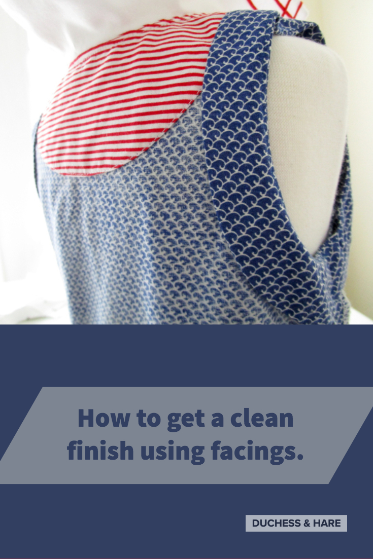 Learn how to get a beautiful garment inside and out with these tips on facings.