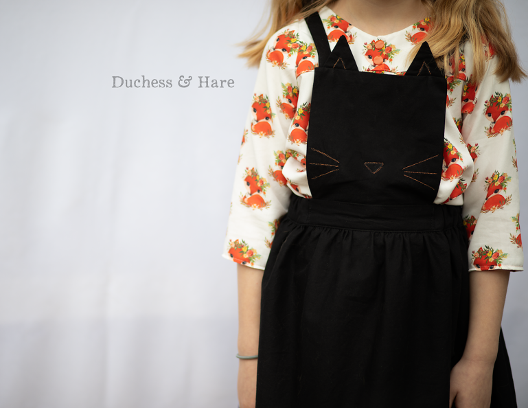 Duchess and Hare Monster Mash in Hawthorne Hues Black