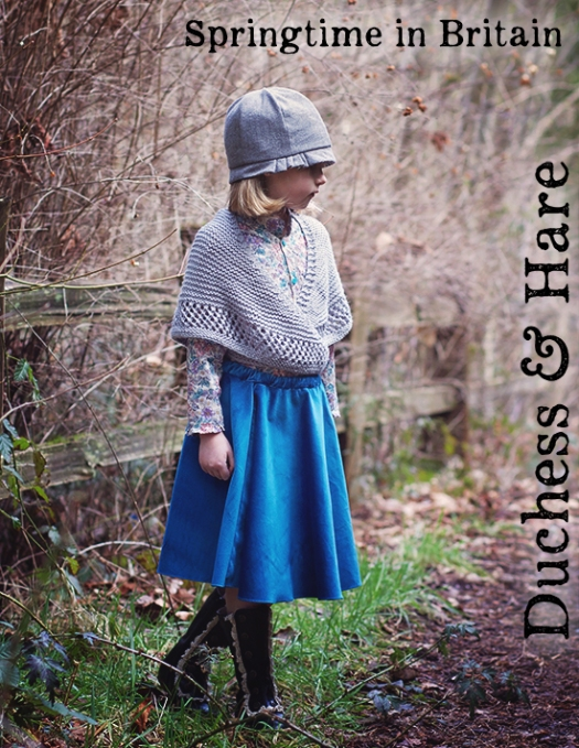 Duchess and Hare project Run and Play Springtime in Britain